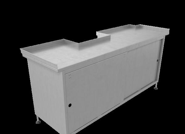 Стол производственный с ящиками купе Спк-01